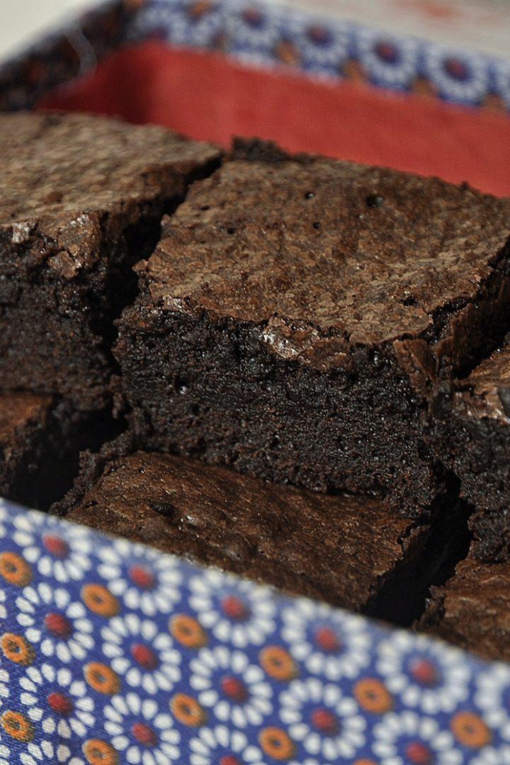 Μπράουνις με κακάο / Cocoa brownies