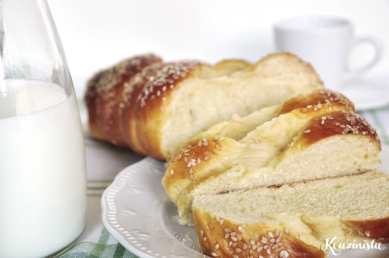 Αφράτο και μυρωδάτο τσουρέκι από… σπίτι / Greek Easter Bread (Tsoureki)