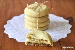 Cookies με γέμιση κανέλας & ζάχαρης / Cinnamon sugar filled cookies