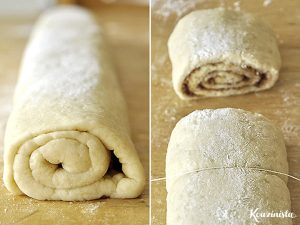 Ρολά κανέλας (χωρίς μαγιά) με γλάσο γιαουρτιού / No yeast cinnamon rolls with Greek yogurt glaze