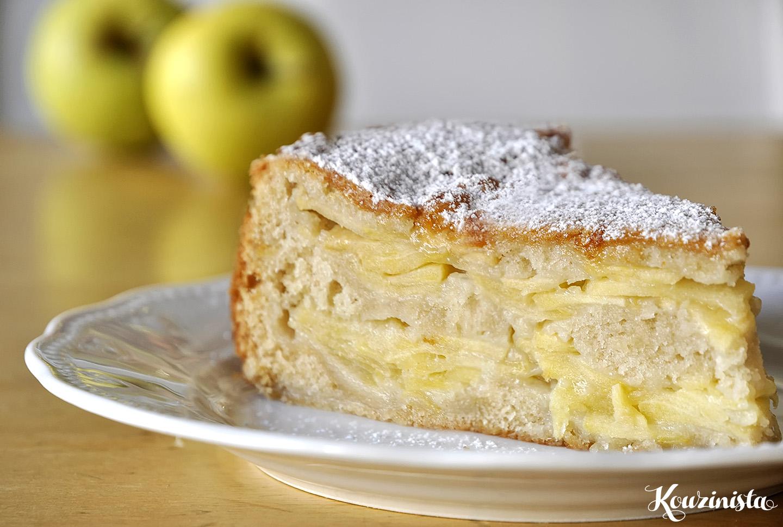 Μεθυσμένο κέικ μήλων / Drunken apple cake
