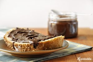 Σπιτική πραλίνα φουντουκιού / Homemade nutella
