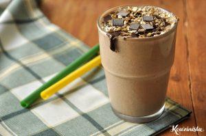 Παγωμένο smoothie με πραλίνα φουντουκιού / Frozen nutella smoothie