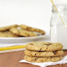 Cookies με ελαιόλαδο και σοκολάτα