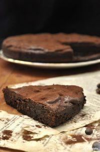 Σουηδικό κέικ/μπράουνις σοκολάτας / Swedish chocolate cake