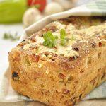 Ψωμί∼πίτσα στη φόρμα… χωρίς ζύμωμα!