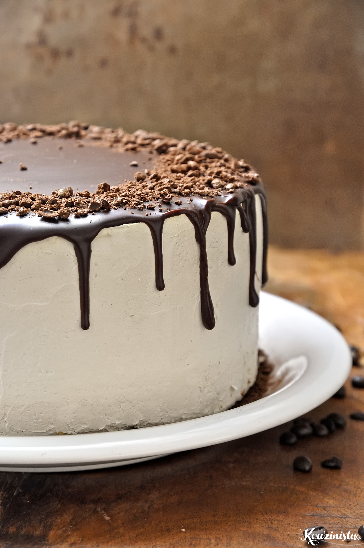 Chocolate Cappuccino Cake With Mocha Frosting
