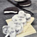 Παγωτό ξυλάκι με λευκή σοκολάτα & Oreo