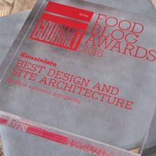 BHMAgourmet Food Blog Awards 2015: Το βραβείο