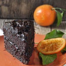 Νηστίσιμη τούρτα σοκολάτας