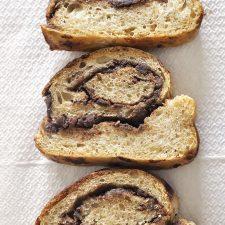 Ψωμί με σοκολάτα και ταχίνι