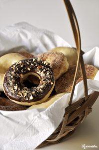 Αφράτα φουρνιστά ντόνατς / Baked donuts