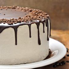 Ονειρεμένη τούρτα cappuccino για τα δυο χρόνια!