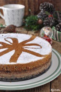Χριστουγεννιάτικο μαγικό κέικ με μπαχαρικά & καρύδια / Christmas spiced walnut magic cake